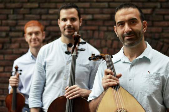 RootsWorld - Music of the Month: Basel Zayed's Ayn Trio